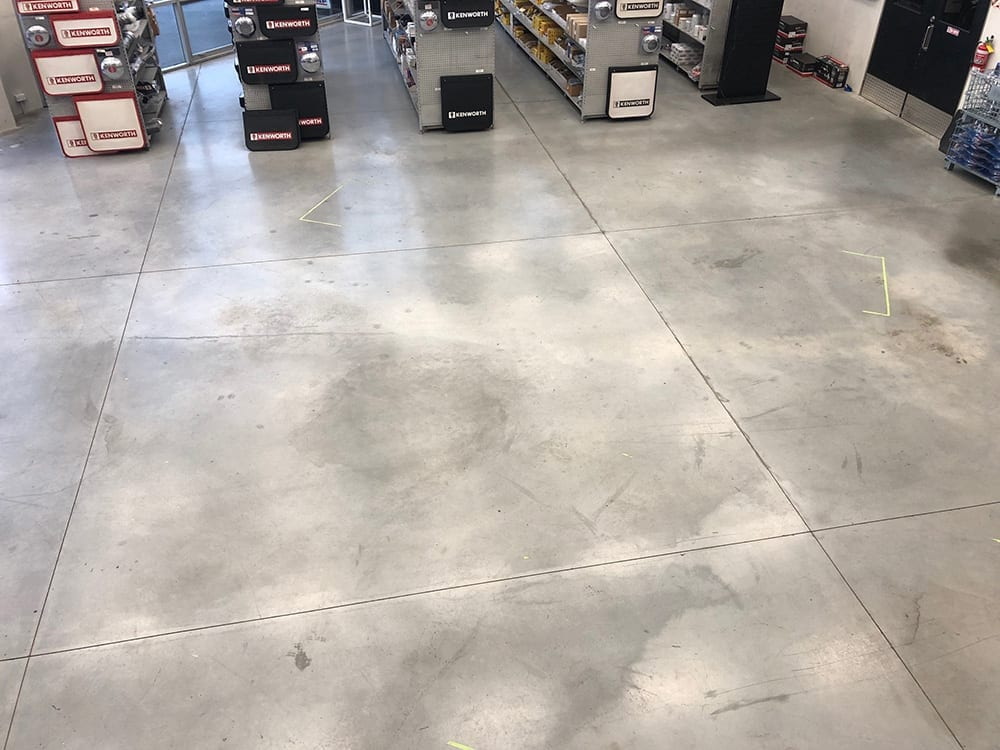 Hardfloor cleaning, buffing and polishing