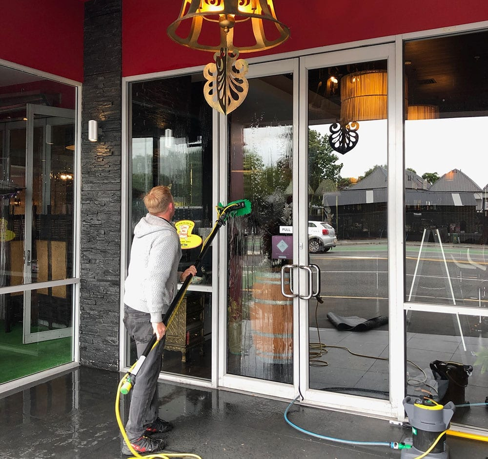 Pure water window cleaning with Your Cleaners